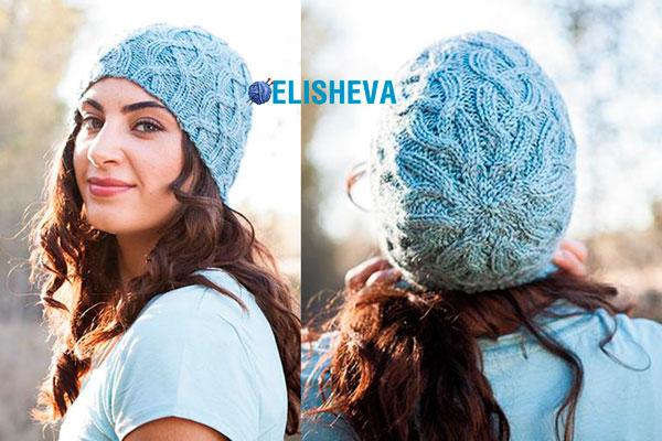 Модная женская шапка от Allison Griffith: описание и схема вязания