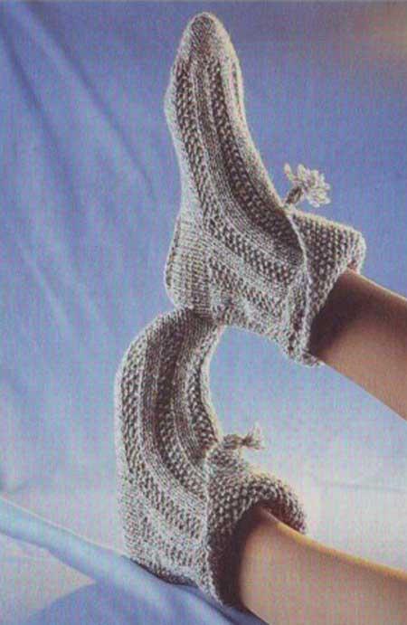 Модные носки с отворотом