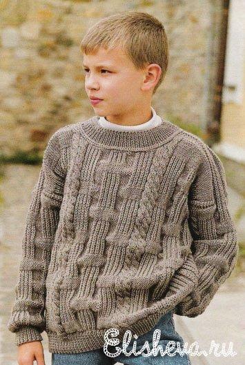 Журналы вязания спицами свитер