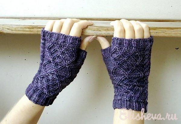 Теплые перчатки и варежки,