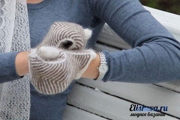 Перчатки варежки своими руками