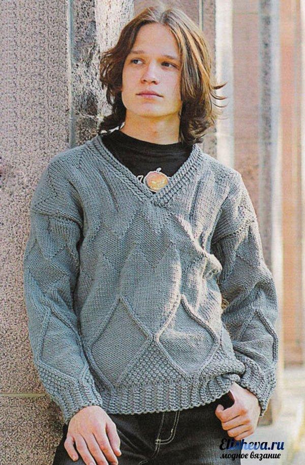 Вязание для мальчика подростка свитера 90