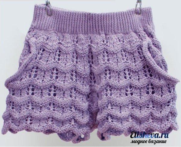 Женские шорты в романтическом