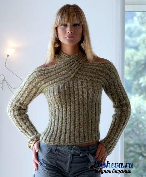 """Оригинальный пуловер """"Объятия"""