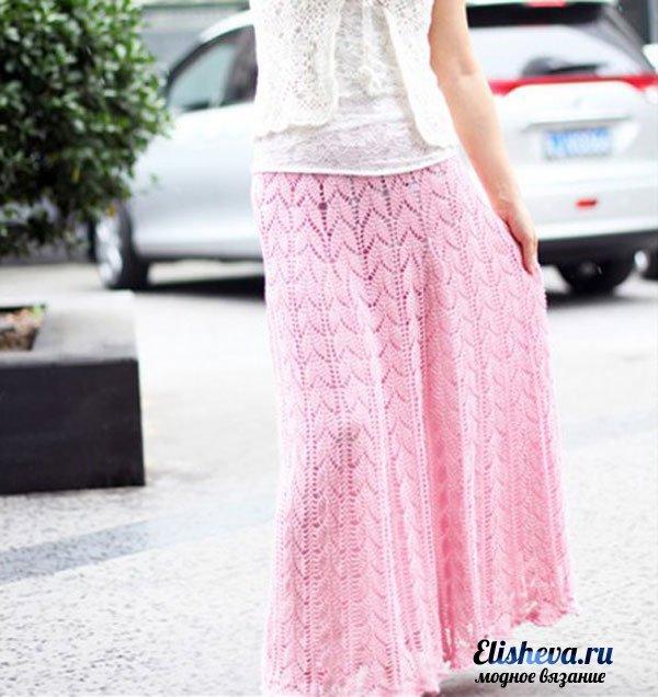Длинные юбки на лето схема