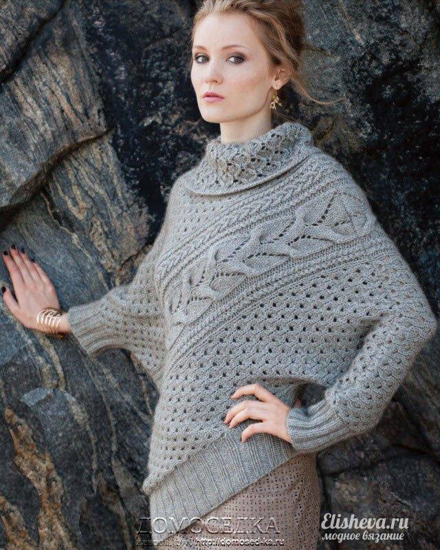 Ассиметричный свитер от Sanae