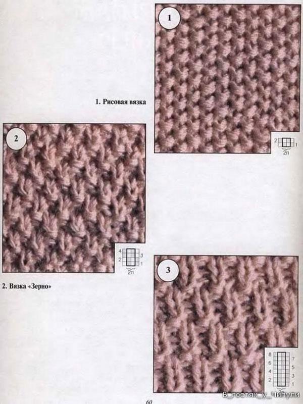 Аранское вязание.
