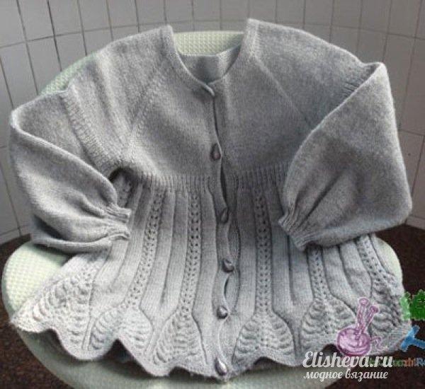 кофта спицами, вязание для детей, спицами, девочкам. Не могу не поделиться найденной красотой