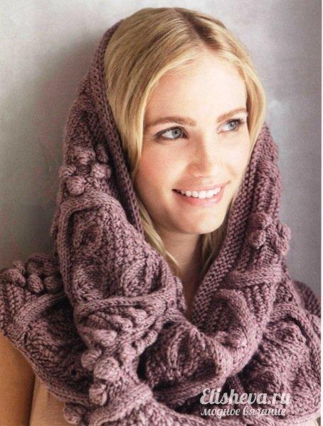 способов завязать шарф.