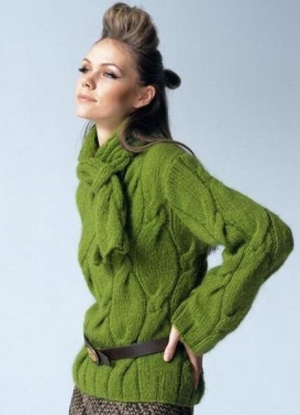 Метки: вязание спицами пуловер