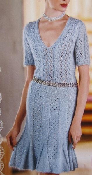 Шикарное платье «Колокольчик