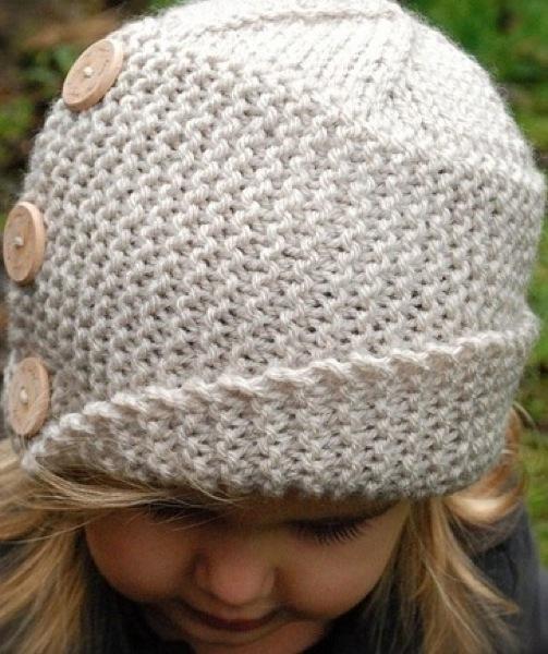 Схема вязания детской шапки