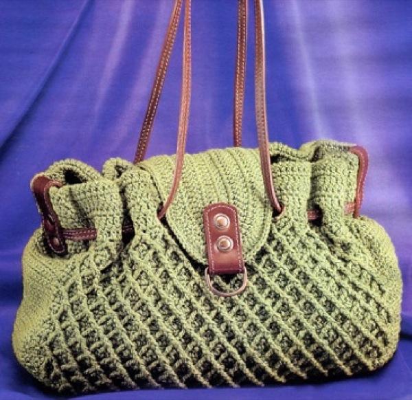 Журнал Elisheva.ru представляет Вам выкройки и схемы вяз. вязаная сумка, сумка крючком, схема вязания, журнал вязания