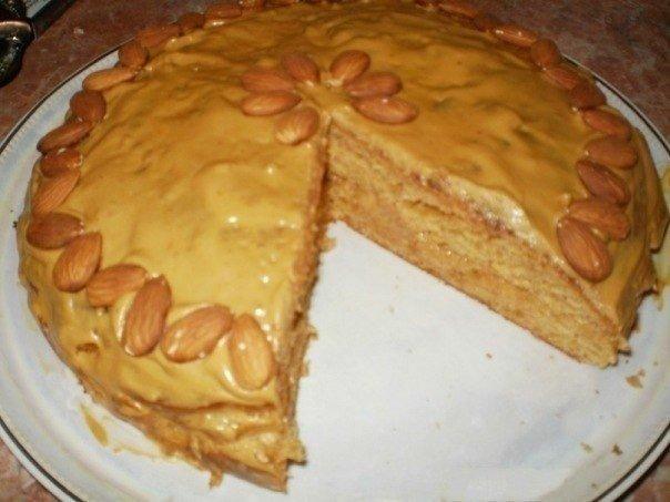 Рецепт пирога с вареной сгущенкой пошаговое с