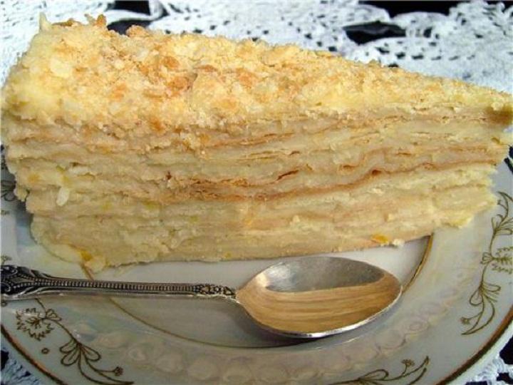 торт наполеон рецепт с фото бабушкин рецепт