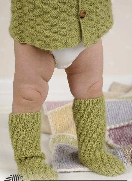 """Носочки для малыша """"Робин гуд"""""""