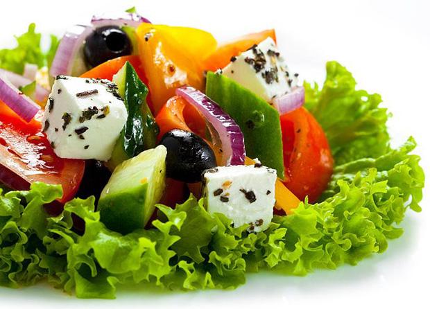 Греческий салат секреты приготовления