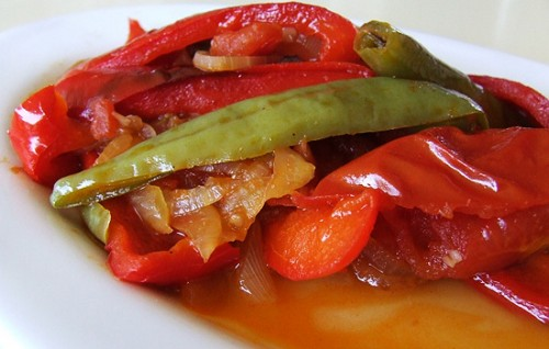 Рецепт заготовки горького перца на зиму