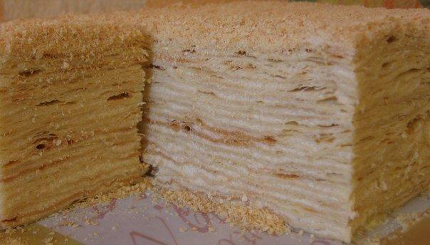 торт наполеон 2014 пошаговый рецепт