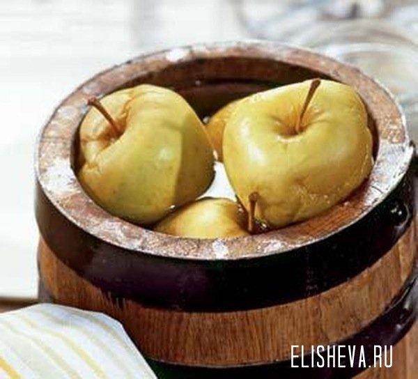 Как сделать моченые яблоки в домашних условиях видео