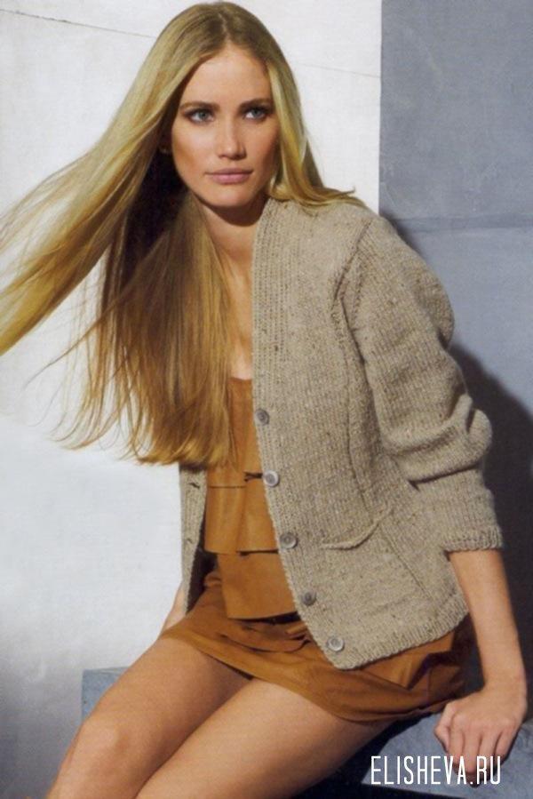 Приталенный жакет-пиджак