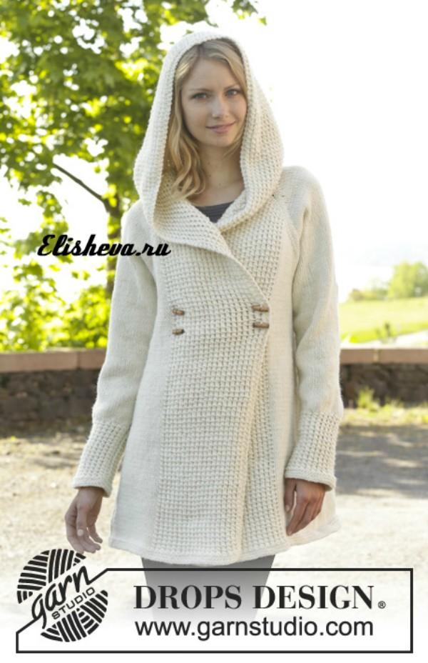 Как сшить вязаное пальто 572