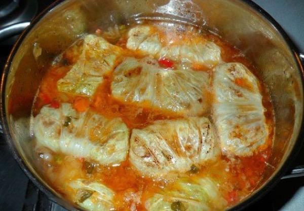 Голубцы рецепт с капустой