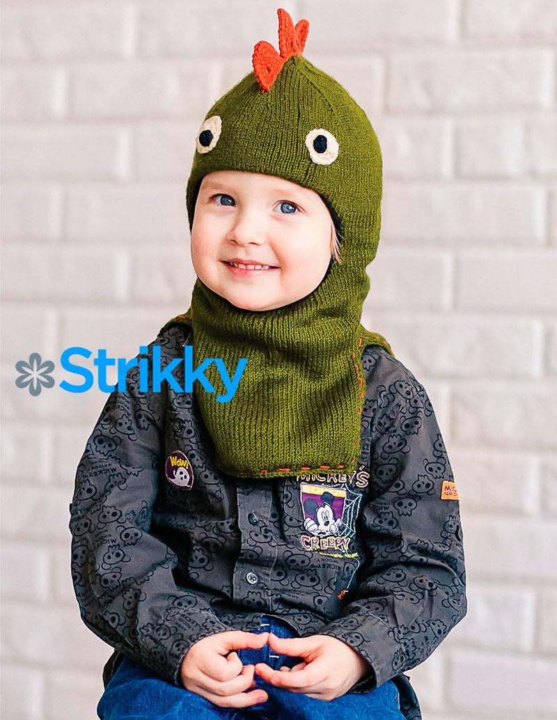 вязание зимней шапки с ушками для девочки 2 года со схемами
