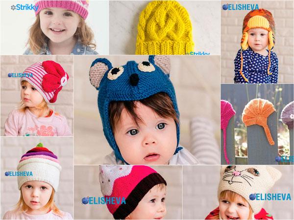 20 самых популярных детских шапочек вязаных спицами в 2015 году ad0951231f3d8