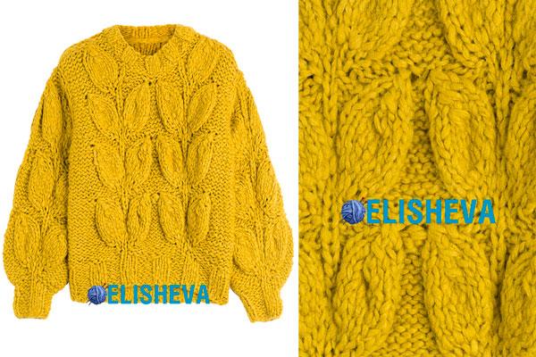 вязание мужчине свитер английский стиль