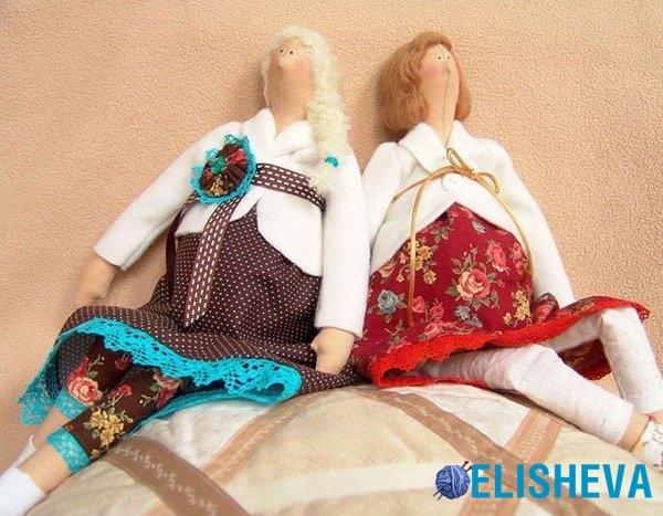 Куклы сидячие своими руками 13