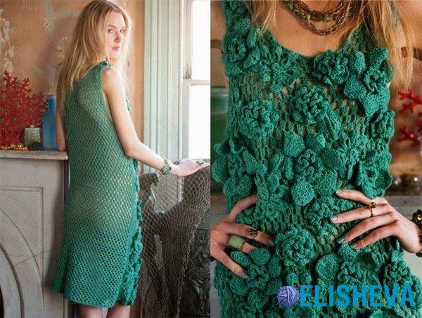 Красивые летние модели вязания крючком от VOGUE knitting