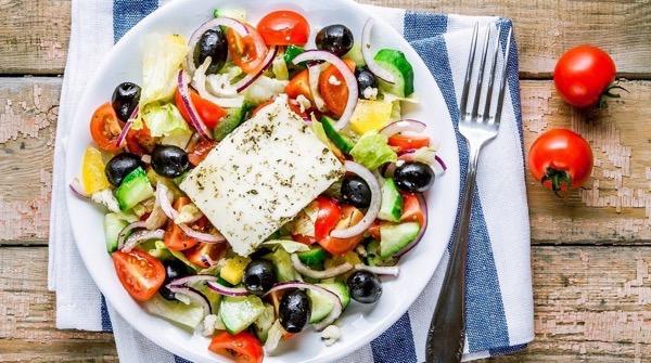 греческий салат рецепт пошаговый