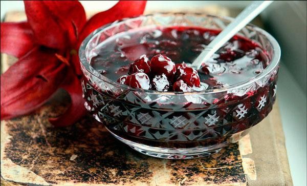 рецепт как варить вишневое варенье