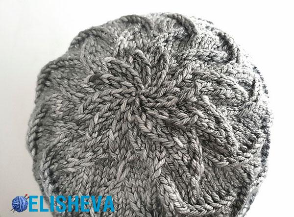 Как убавить вязание шапки 916