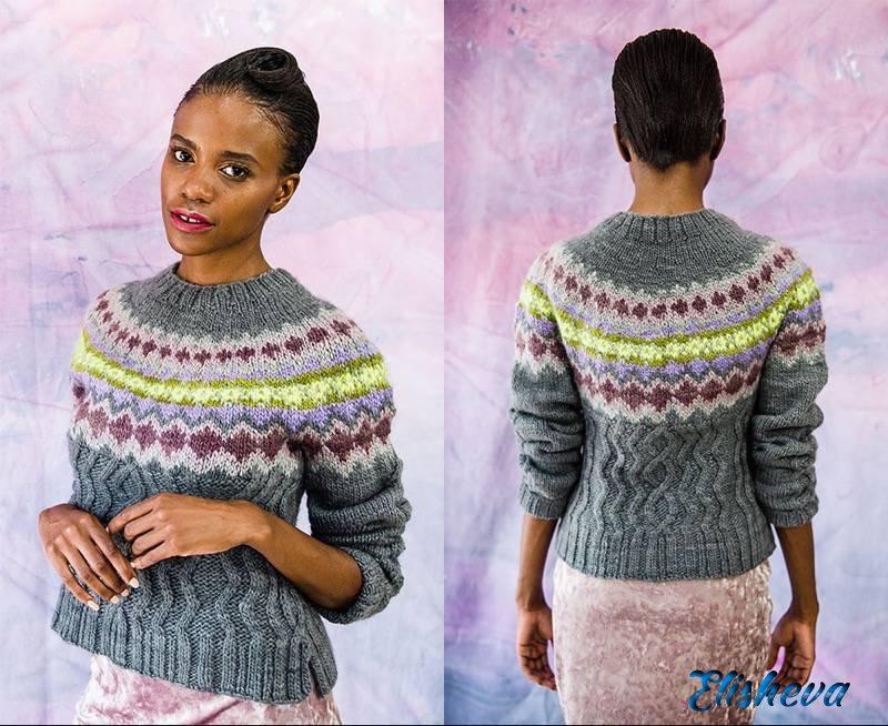 Pom Pom зима 2017: журнал модного вязания для женщин