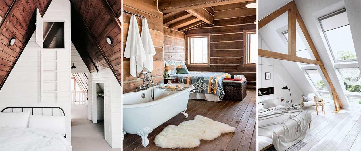Спальня на чердаке: идеи дизайна в фото и советы