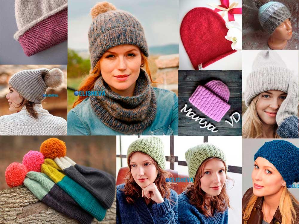 Теневые узоры спицами для вязания свитеров